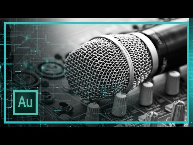 HOW TO CORRECTLY LEVEL YOUR AUDIO IN ADOBE AUDITION - FOR YOUTUBERS