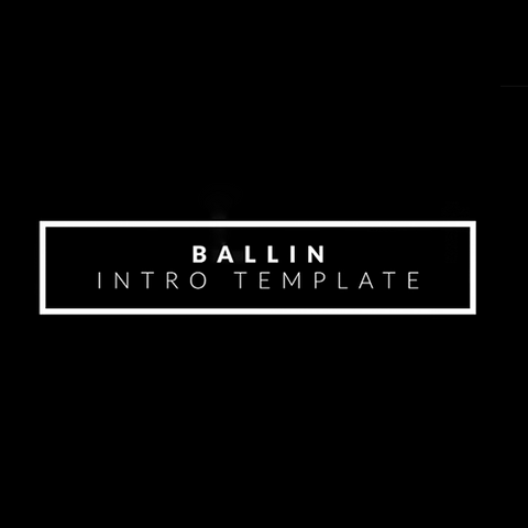 Project File - Ballin Intro Title