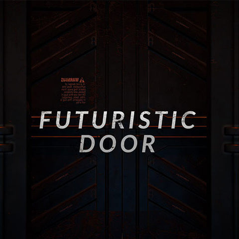 Project File - Futuristic Door Intro Template