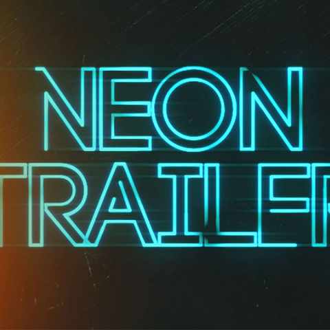 After Effects Template - Neon Trailer Title