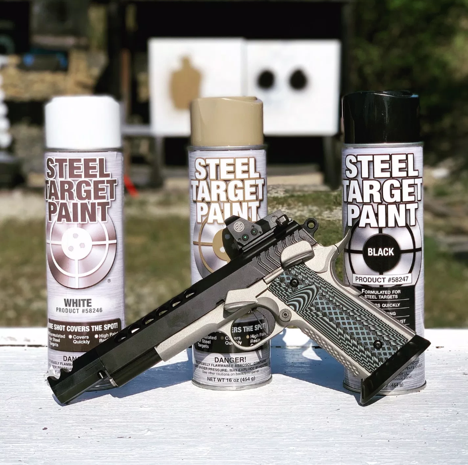 Why is Steel Target Paint the best paint to use on steel targets?