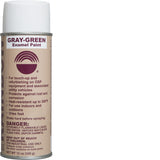 Gray-Green Enamel Paint