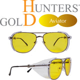 Hunters HD Gold - Advanced Shooting Lenses - Aviator