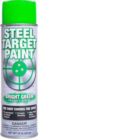 Bright Green Steel Target Paint