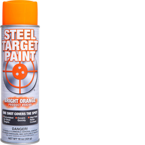 Bright Orange Steel Target Paint