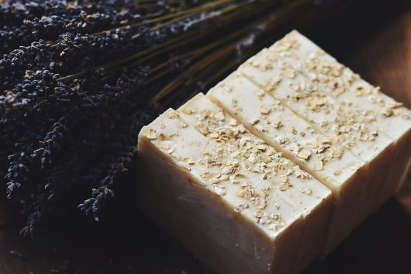 Lavender & Oat Natural Soap
