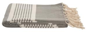 Cotton Hammam Towel - Grey