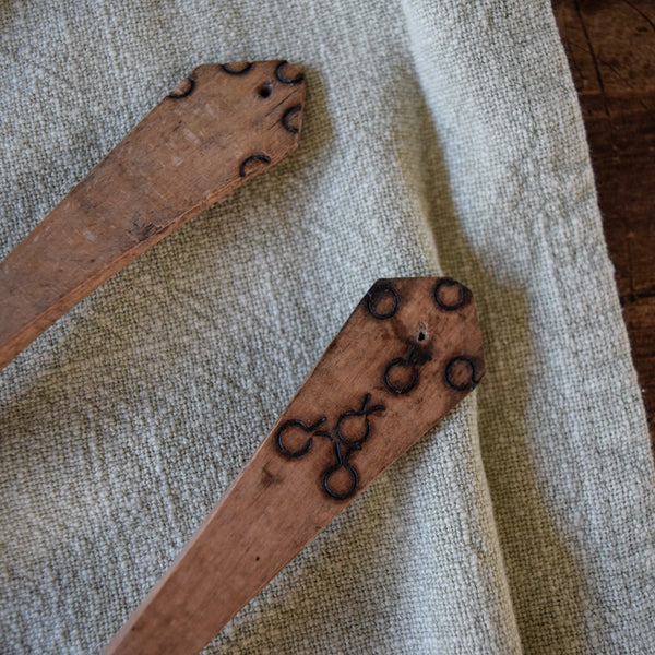 Vintage Hand-Carved Wooden Spoon - LAST ONE