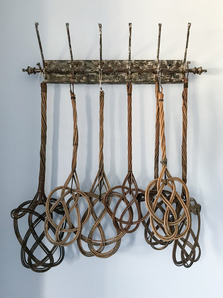 Vintage Wicker Rug Beater