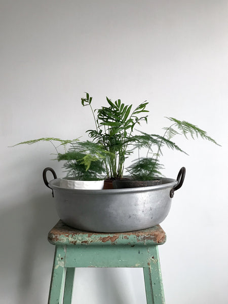 Vintage Industrial Planter