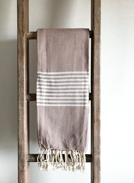 Cotton Hammam Towel - Dusky Rose