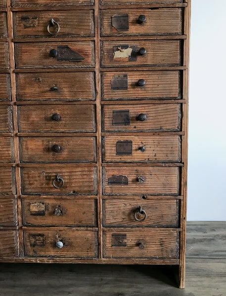 Vintage Watchmakers Drawer Unit