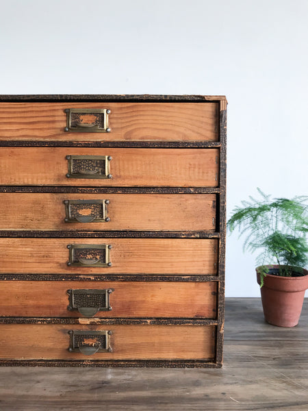 Vintage Filing Drawers