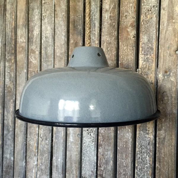 Enamel Light Shade (grey)
