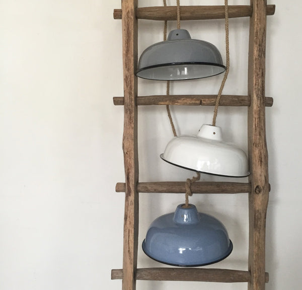 Enamel Light Shade (denim)