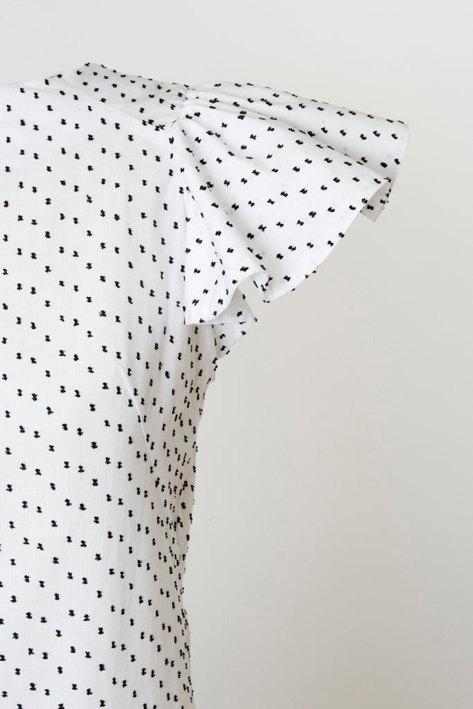 Capitola Tunic - Flamenco Dot