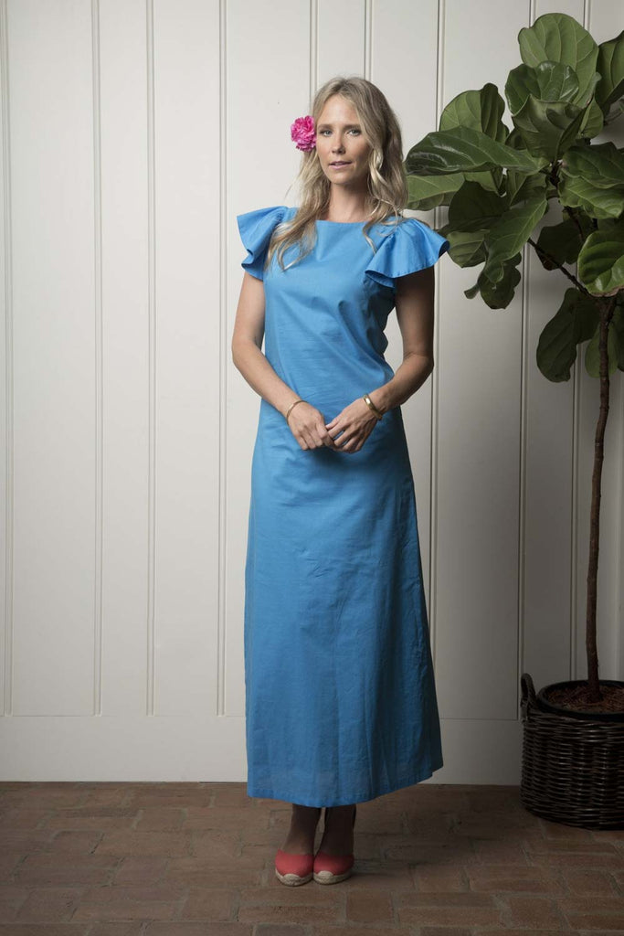 Capitola Cabana Dress - Turquoise