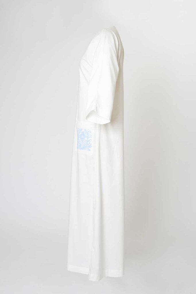 Malaga Cabana Dress - White