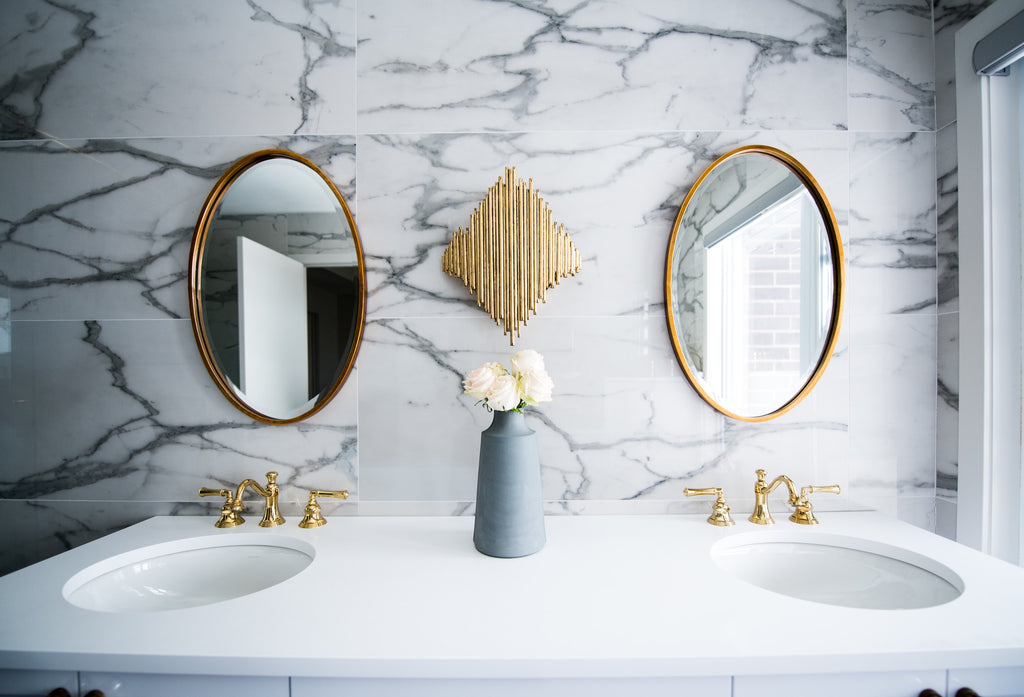 Designer Bathroom Décor for a Perfectly Pampered Mood