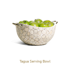 Tagua Serving Bowl
