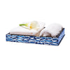 Blue Almendro Bath Tray