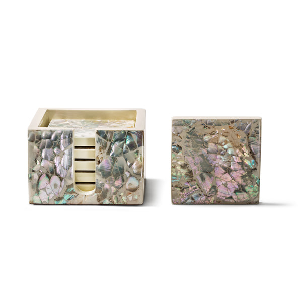 Mother of Pearl - Natural Coaster Set