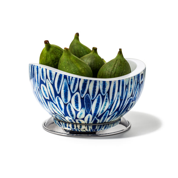 Blue Almendro Accent Bowl