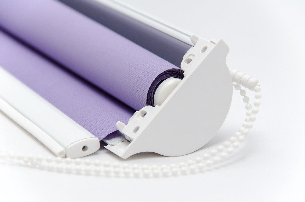 purple roller blind mechanism