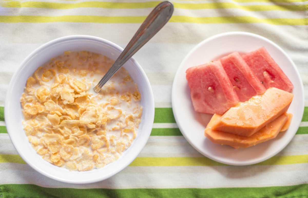 cereal and melon