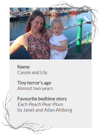 Bio card for Cassie and Lily
