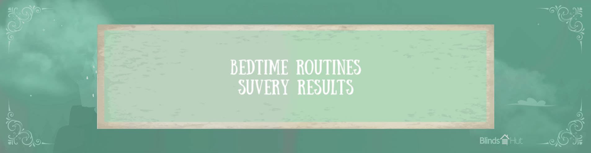 Title card reading: Betime routines survey results