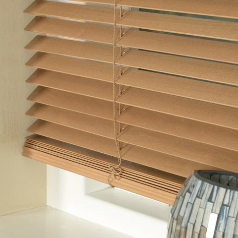 25mm Express Basswood Venetian Blind Pecan