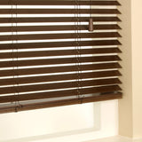 35mm Primary Wood Venetian Blinds Walnut Free Sample