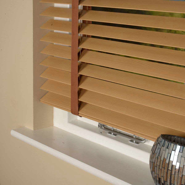 50mm Elementi Wood Venetian Blind With Tapes Elm