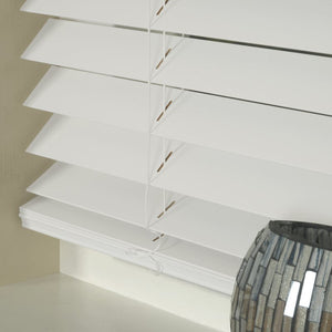 50mm Express Basswood Venetian Blind White