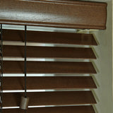 35mm Elementi Wood Venetian Blind Auburn