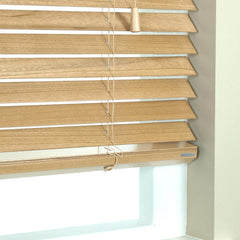 50mm Elementi Wood Venetian Blind Elm