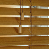 50mm Elementi Wood Venetian Blind Tuscan Oak