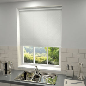 Ankara Blackout Roller Blind White