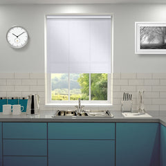 Comfort Sheer Plain Roller Blind Whisper