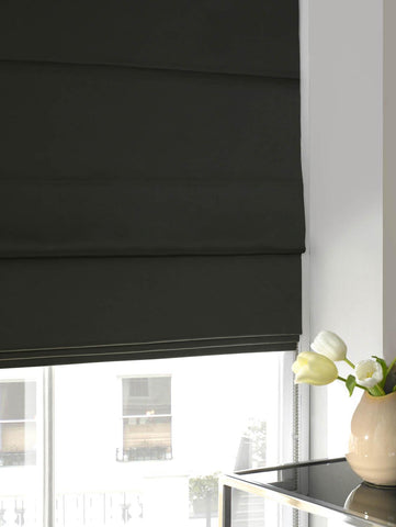 Faux Silk Roman Blind Seal