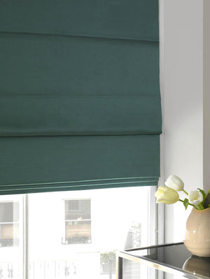 Faux Silk Roman Blind Sky