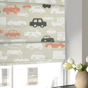 Go Roman Blind Orange