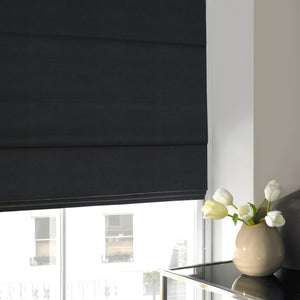 Harper Roman Blind Black