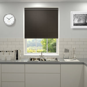 Kensington Plain Roller Blind Chocolate