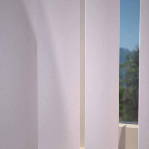 Kensington Plain Vertical Blind Fondant