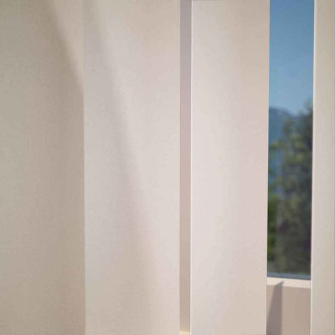 Kensington Plain Vertical Blind Powder
