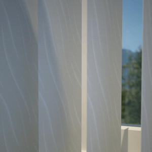 Luxe Vertical Blind White