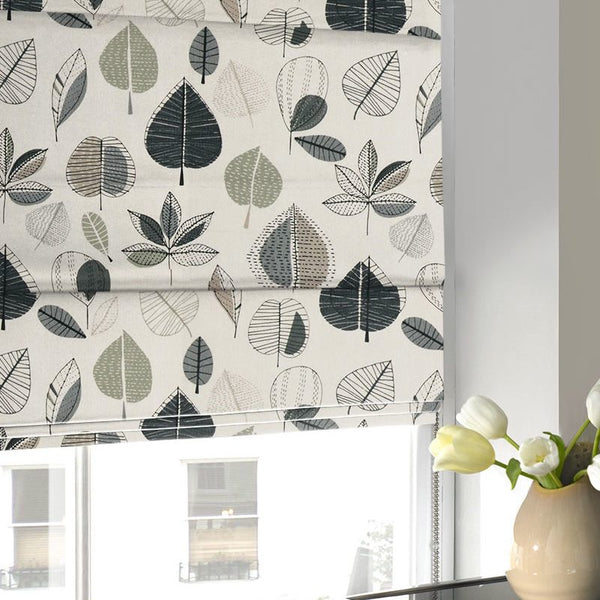 Maple Roman Blind Linen