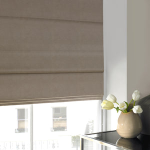 Melody Roman Blind Taupe